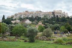 Ancient Agora of Athens (jonk4444) Tags: greece xe2 athens acropolis parthenon ancient agora landscape