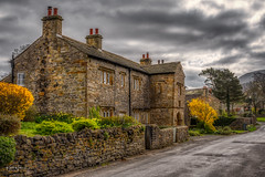 The Old Manor House (Kev Walker ¦ 10 Million Views..Thank You) Tags: architecture clouds england lancashire outdoor sky snow town village aitken barley beautiful beautifulvillage blacko bluesky british buildings cloudy cold council covered crossroad downham english famous floralforeground hill houses icon information landscape near nelson parish parks path pendle rural sign signpost street sunny symbols tourism travel under urban view walking weather winter wood