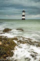 Penmon calm waters (Twiglet Images) Tags: nikond600 penmon point lighthouse cloud seascape tide lowtide incoming seaweed seawater beach rock stone