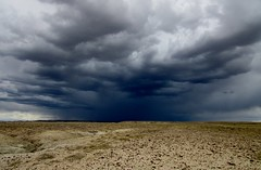 Storm over the badlands 1506 (Tangled Bank) Tags: sweetwater county wyoming wild nature natural landscape america american north open range badlands geology