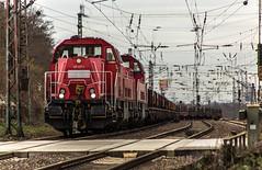 24_2019_02_06_Gelsenkirchen_Bismarck_1265_027_&_016_DB_mit_Brammenzug ➡️ Herne_Abzw_Crange (ruhrpott.sprinter) Tags: ruhrpott sprinter deutschland germany allmangne nrw ruhrgebiet gelsenkirchen lokomotive locomotives eisenbahn railroad rail zug train reisezug passenger güter cargo freight fret bismarck akiem cww db de eh erd nrail pkpc rpool 0275 0632 1202 1203 1265 1275 5370 6155 6185 6186 6187 6189 6193 9263 9425 lkw captrain dortmundereisenbahn sandzug abzwcrange dortmund bottropsüd dorsten logo natur outdoor graffiti