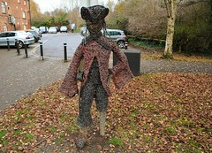 34293 (benbobjr) Tags: banbury oxfordshire england english uk unitedkingdom gb greatbritain britain british town city urban oxfordcanal canal spaghettilimbedpete statue sculpture art davidgosling millartscentre