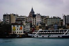 Karaköy (bilgehanbilge) Tags: city outdoor şehir sea deniz cityscape galatatower galata galatakulesi ferry vapur manzara landscape istanbul