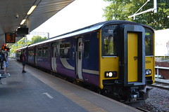 Northern Sprinter 150 (Will Swain) Tags: station 5th july 2018 salford crescent greater manchester city centre north west train trains rail railway railways transport travel uk britain vehicle vehicles england english europe northern sprinter 150 arriva group class