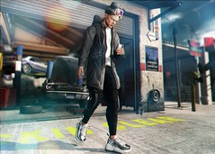 LOTD 426 (Brendo Schneuta) Tags: hevo jacket antisystem pants doux beanie hair fli sneakers merch pose poses glasses hxnor tmd level equal10 event events men male boy moda fashion style estilo blog blogger bloggersl second secondlifeblog secondlife sl game avatar virtual new releases