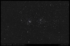 Double amas de Persée (Adrien Witczak) Tags: ngc869 ngc884 doubleamasdepersée adrienwitczak astrophotographie astrophotography astronomie astronomy cielprofond deepspace espace ciel canon1000ddefiltre