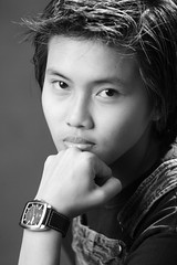 androgyne (rousselfineartphoto) Tags: tomboy masculine young face expression teenage girl philippine photography photographie pierre roussel fine art photo androgyne monochrome platinum palladium blackandwhite noiretblanc qc canada can