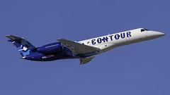 N16525_LAS_Takeoff_7L (MAB757200) Tags: contourairlines erj135lr n16525 aircraft airplane airlines airport jetliner las klas takeoff runway7l mccarran embraer