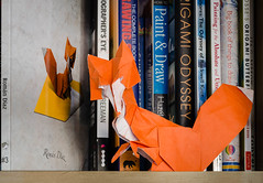 The book thief (frasermacmillen) Tags: origami romandiaz tant vixen