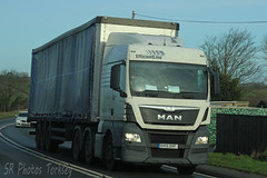 MAN Artic OV15 OVF (SR Photos Torksey) Tags: transport truck haulage hgv lorry lgv logistics road commercial vehicle freight traffic man