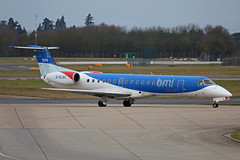 G-RJXC Embraer EMB145EP BMI Regional Stansted 12th January 2019 (michael_hibbins) Tags: grjxc embraer emb145ep bmi regional stansted 12th january 2019 aircraft airliner airline passanger passenger commercial civil ttail aeroplane aerospace aviation aero airfields airport airplane airports plane planes jet jets