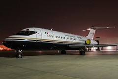 XA-UXR aeronavestsm.com DC-9-15MCF in KCLE (GeorgeM757) Tags: xauxr aeronavestsm dc915mcf dc9 freighter cargo aircraft aviation airport mcdonnelldouglas nightairplane canons100 ramp georgem757 clevelandhopkins kcle n1306t