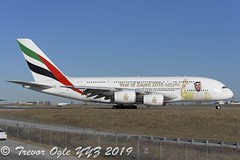 DSC_6318Pwm (T.O. Images) Tags: a6eog emirates airlines airbus a380 year zahed 2018 toronto pearson yyz