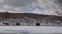 Southville Bridge (blazer8696) Tags: 2019 bridgewater ct connecticut ecw hdr img38181920natural obtusehill t2019 usa unitedstates bridge housatonic river southville truss