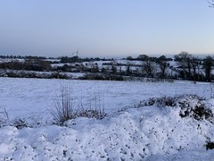 Snow day - The Fields (firehouse.ie) Tags: sky horizon wintery weather nature countryside rural snowscapes landscapes countycork landscape hills fields field 2019 march ireland snowing snowscape snow
