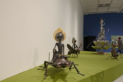 Asia in Asia 展覽現場-4 (Yang Mao-lin) Tags: 夢幻島 昆蟲 鍬形蟲 stagbeetle