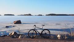 2019 Bike 180: Day 57, March 22 (olmofin) Tags: 2019bike180 finland bicycle polkupyörä sea meri ice jää frozen