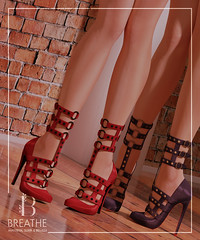 [BREATHE]-Tomomi@Kinky Event ([Breathe]) Tags: breathe maitreya belleza slink kinky secondlife mesh heels daisaadmiral patent leather playgirl