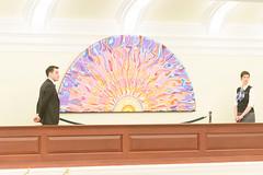 031819LAO_Chamber Unveiling035 (LegAssemblyofAB) Tags: alexjanvier indigenousart art legislativeassemblyofalberta legbuilding legislativeassembly legislature ableg alberta albertaart