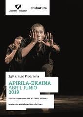 EHUkultura Programa EHUkultura Bizkaia abril-junio 2019 (EHUkultura) Tags: upvehu ehukultura programa bizkaia