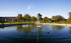 Tuileries garden (hbensliman.free.fr) Tags: trave arcitecture paris city urban park garden water basin reflection
