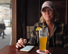Tasting beers in Chelsea (www.higbyphotography.com) Tags: brooklyn nyc newyorkcity alehouse tavern jakes beer hip belgiumwhiteale bar