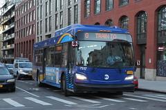 IMG_5144 (GojiMet86) Tags: mta nyc new york city bus buses 2018 xd40 7517 subway shuttle north 12th street bedford avenue
