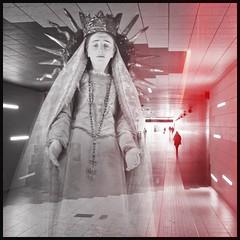 suburban appearance of much pain #digitalart #collage #myphotography #sculpture #bergamo (MarkusBaumgartner) Tags: digitalart myphotography bergamo collage sculpture