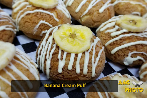 """Banana Cream Puffs • <a style=""""font-size:0.8em;"""" href=""""http://www.flickr.com/photos/159796538@N03/47600767951/"""" target=""""_blank"""">View on Flickr</a>"""