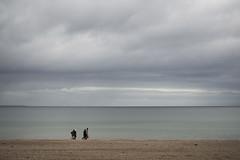 Nordish by Nature (Peter Glaab) Tags: 25mm himmel horizont lübeckerbucht meer menschen olympus ostsee sand strand timmendorferstrand waagrechte wolken zuiko linie schleswigholstein