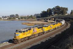 MRVOA - Pinole (imartin92) Tags: pinole california unionpacific railroad railway freight train emd sd70m sd59mx sd60m locomotive