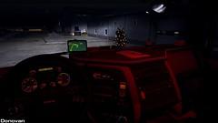 Night interior (Sergey Donovan) Tags: daf xf105 truck trailer game night