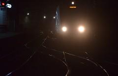 Caught in the Headlights (pnb511) Tags: greateranglia greateastern ger londonliverpoolstreetstation geml greateasternmainline londonoverground tfl class345 subterranean commuter railway head lights shine reflected light