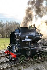 Tornado: Front End (Gerald Nicholl) Tags: a1 60163 tornado wensleydale yorkshire lner peppercorn redmire express steam engine loco