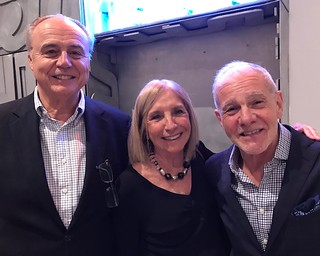 Former Argentine Consul Santos Goni with wife Luz Ojea de Goni and collector Rafael Mijar at the Lowe Art Museum dual opening of The Face of Our Time: Russian Avant-garde Art from the Bekkerman Collection and Marcelo Bonevardi: Magic Made Manifest.