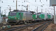 BB 27178 + BB 66269 + BB 75072 + BB 75106, Amiens - 05/06/2010 (Thierry Martel) Tags: bb27000 bb66000 bb75000 locomotiveélectrique sncf amiens locomotivethermique