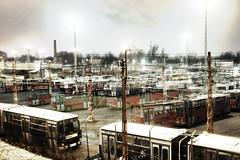 éjjelnappal (TheMutantCow / MutánsTehén) Tags: budapest buda pest zugló kőbánya troli trolibusz trolitelep éjjelnappal éjjel nappal bkv bkk trolley trolleybus city urban capital hungary