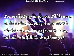 Matthew 5:18 (jhungalang) Tags: matthew 518
