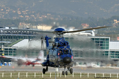 D-HEGM F-WMXG (mduthet) Tags: dhegm eurocopter as332 helicoptères aéroportmarseilleprovence