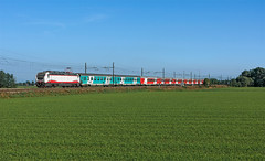 Thello (maurizio messa) Tags: thello e402b e402 eurocity ec146 lombardia pavese mau bahn ferrovia treni trains railway railroad nikond7100