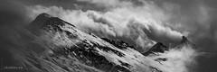 Tempête sur les Alpes valaisannes (Switzerland) (christian.rey) Tags: dentblanche grandcornier gardedebordon valais alpes valaisannes vent nuage tempête brouillard montagnes alps mountains swiss sony alpha a7rii a7r2 24105 noirblanc blackwhite nb bw