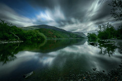 Llyn Padarn (lfeng1014) Tags: llynpadarn lake snowdownia snowdonianationalpark northwestwales england uk landscape reflection canon5dmarkiii ef1635mmf28liiusm leefilters longexposure 70seconds mountain movingcloud dramaticsky travel lifeng canoneos5dmarkiii