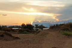 Evening sun (BernardusM) Tags: eveningsun sunset empuriabrava camping laguna