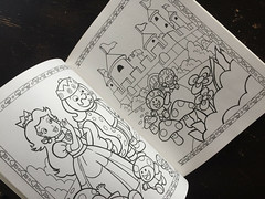 Super Mario Bros Paint n Marker Book 1989 Nintendo_08 (gamescanner) Tags: nintendo mario bros coloring book golden kids activity video games 1989 isbn 030701598x 03350015984