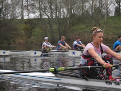 IMG_0916 (NUBCBlueStar) Tags: rowing remo rudern river aviron february march star university sunrise boat blue nubc sculling newcastle london canottaggio tyne hudson thames sweep eight pair