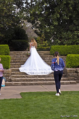 IMG_5620 (Roger Kiefer) Tags: dallas arboretum outdoors beauty nature wedding dress