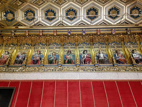 Alcazar of Segovia Hall of the Monarchs