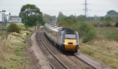 Southbound HST at Barton under Needwood (The Walsall Spotter) Tags: crosscountry trains barton under needwood hst class43 43378 43301 intercity125 highspeedtrain 1v52 diesel
