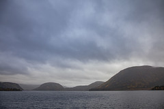 rainy day (crazyhorse_mk) Tags: bygland byglandsfjord otra setesdalen austagder norway landscape nature lake valley mountain sky clouds rain raining rainyday forest wet water