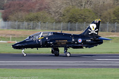 XX285 - 1979 build Hawker Siddeley Hawk T.1A, in 100 Squadron / 100 years special markings (egcc) Tags: ck 100squadron 100years 111 41h312110 736nas egpk hawk hawkt1a hawkersiddeley jw191 jointwarrior jointwarrior191 lightroom pik prestwick royalnavy xx285